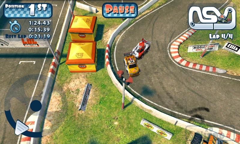 androidアプリ ミニモーターレーシング攻略スクリーンショット3