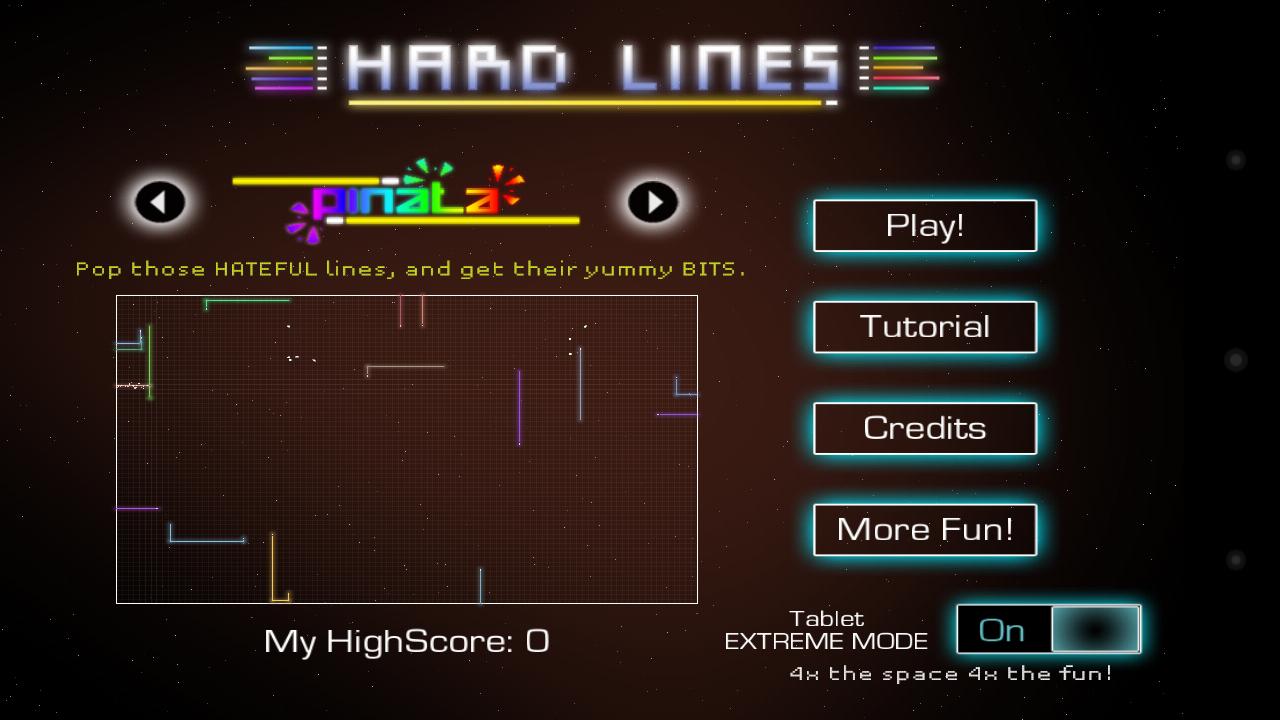 androidアプリ ハードラインズHD攻略スクリーンショット1
