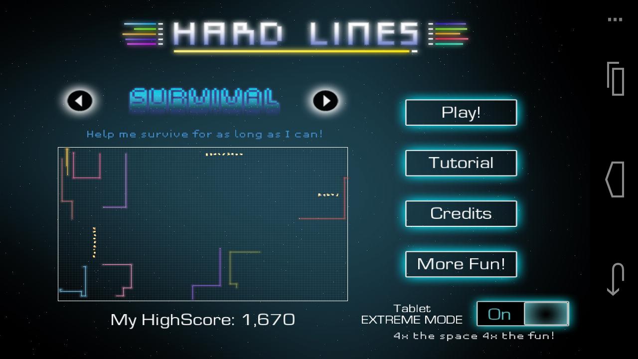 ハードラインズHD androidアプリスクリーンショット3