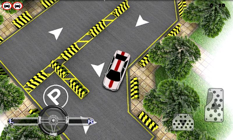 androidアプリ パーキング チャレンジ 3D ライト攻略スクリーンショット1