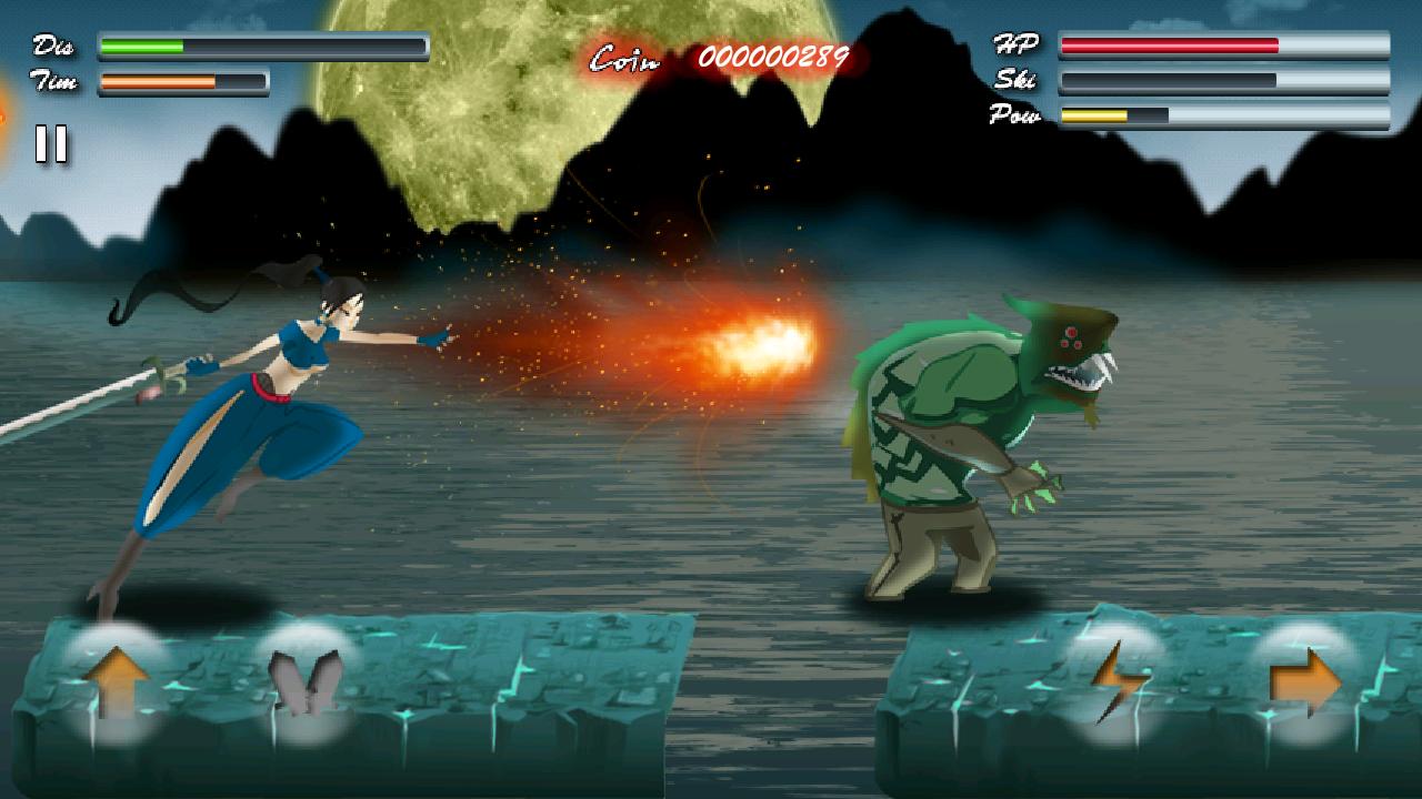 東の騎士 androidアプリスクリーンショット1