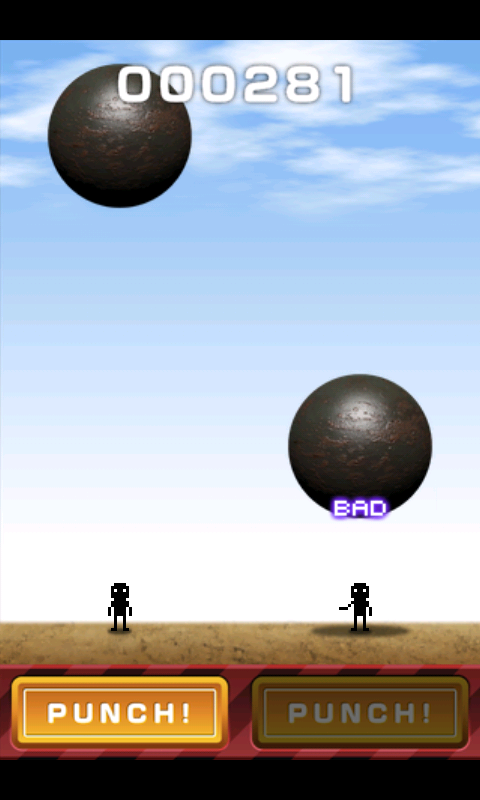 androidアプリ 鉄球ヘブン攻略スクリーンショット2