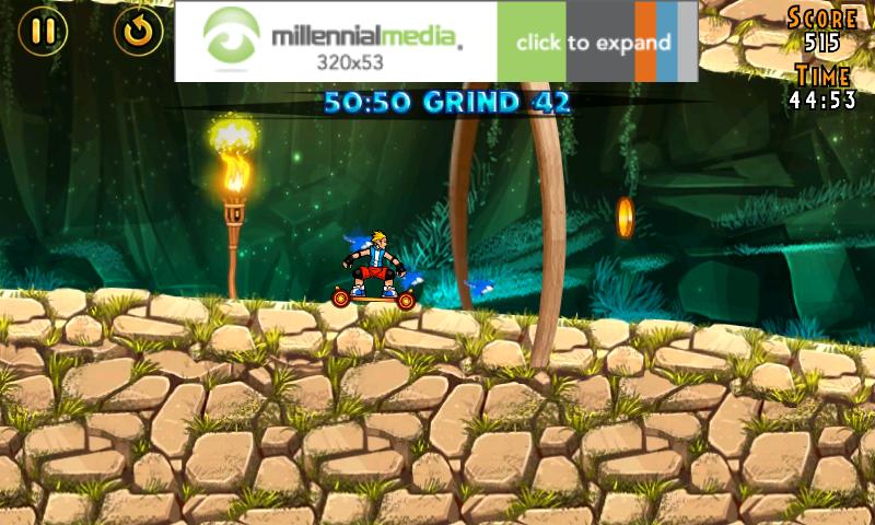 androidアプリ エクストリームスケーター攻略スクリーンショット1