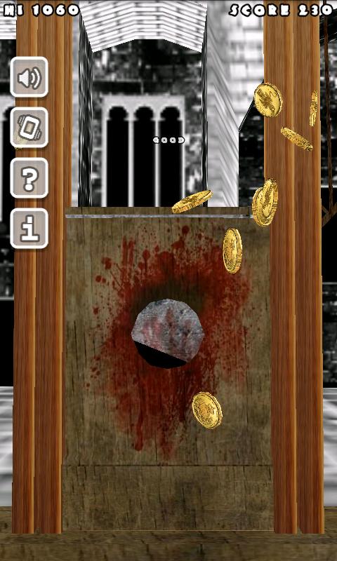 血まみれのギロチン3D androidアプリスクリーンショット1