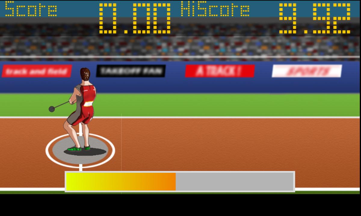 アスリートフィールド<陸上競技レース> androidアプリスクリーンショット2