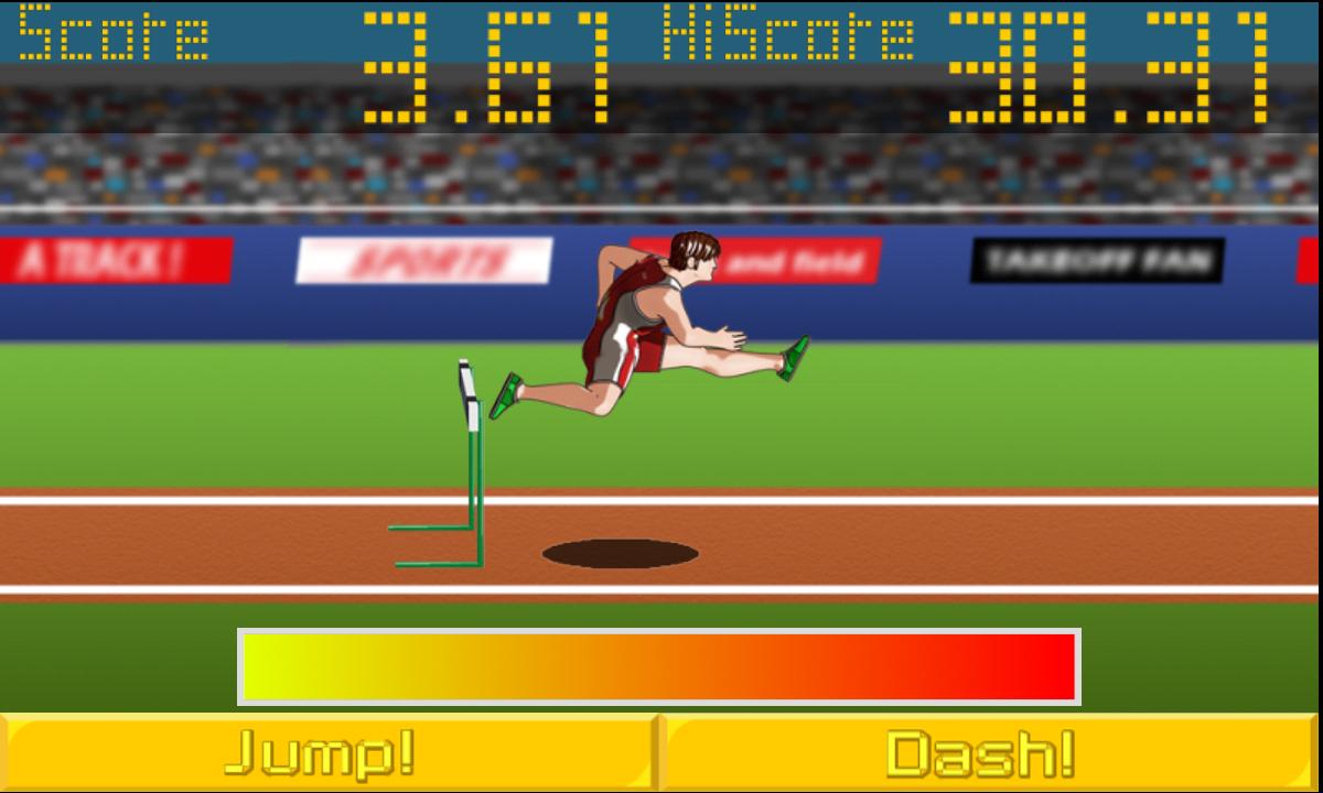 アスリートフィールド<陸上競技レース> androidアプリスクリーンショット3