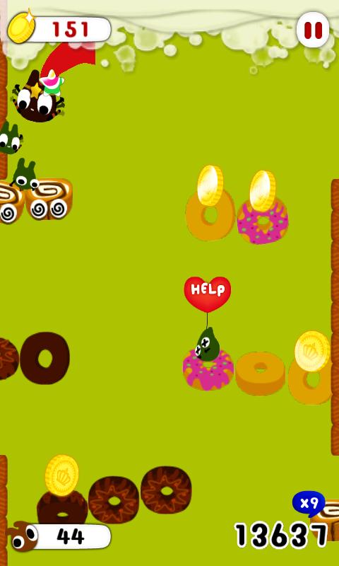androidアプリ チョコレートヒーロー攻略スクリーンショット2