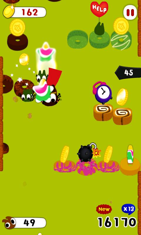 androidアプリ チョコレートヒーロー攻略スクリーンショット3