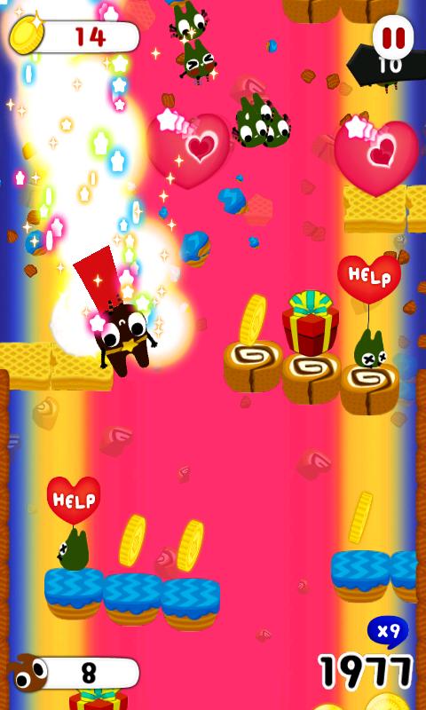 チョコレートヒーロー androidアプリスクリーンショット1