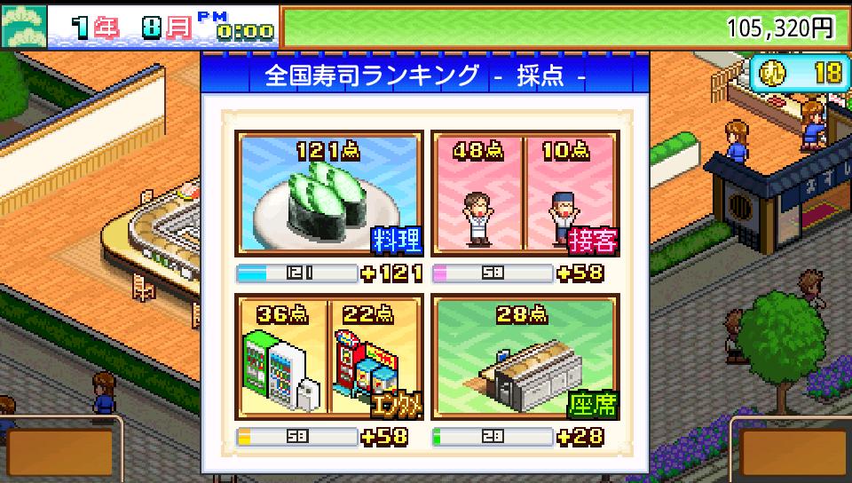 androidアプリ 海鮮!!すし街道攻略スクリーンショット4