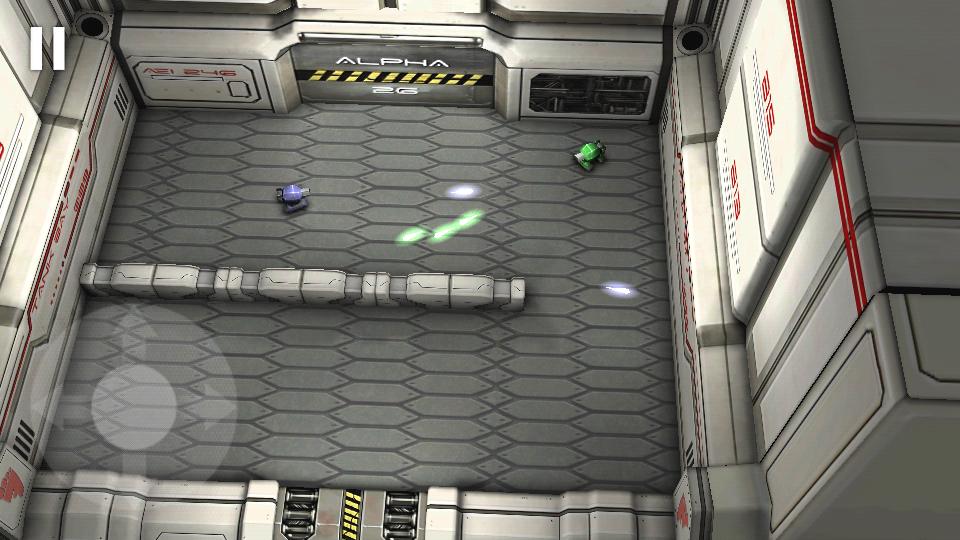 androidアプリ タンクヒーロー:レーザーウォーズ攻略スクリーンショット1