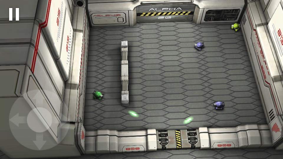 androidアプリ タンクヒーロー:レーザーウォーズ攻略スクリーンショット3