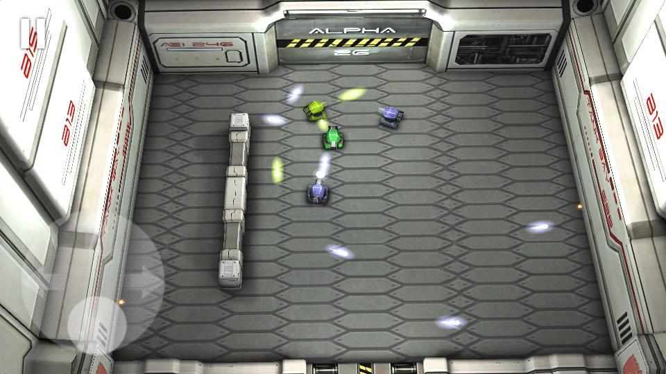 androidアプリ タンクヒーロー:レーザーウォーズ攻略スクリーンショット4