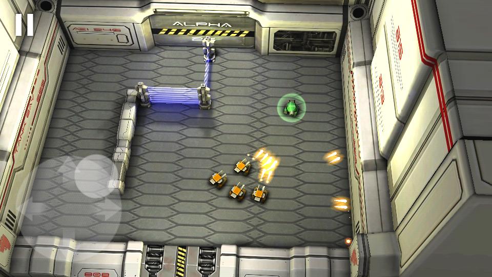 タンクヒーロー:レーザーウォーズ androidアプリスクリーンショット1