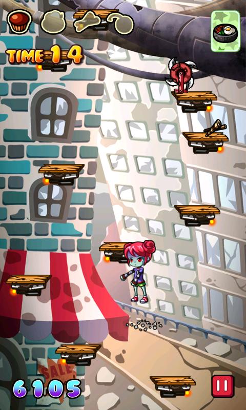 androidアプリ ゾンビジャンプ攻略スクリーンショット2