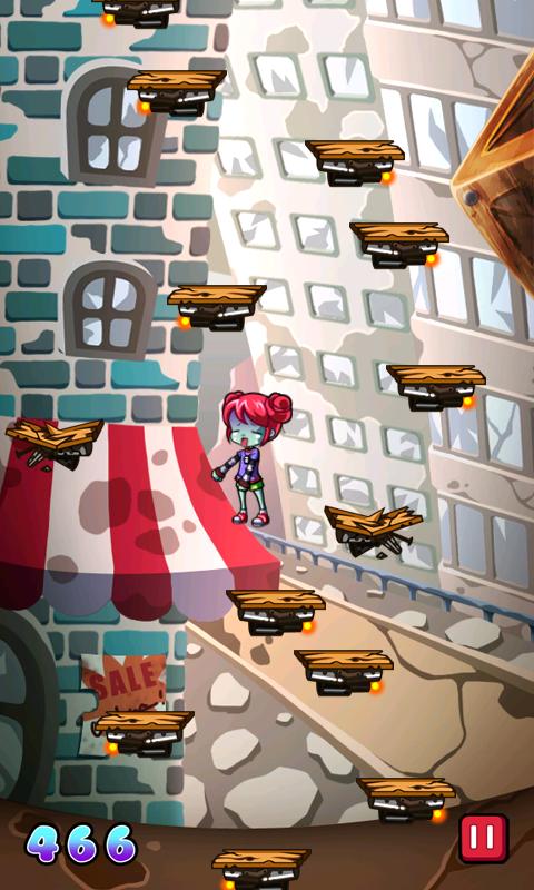 ゾンビジャンプ androidアプリスクリーンショット2