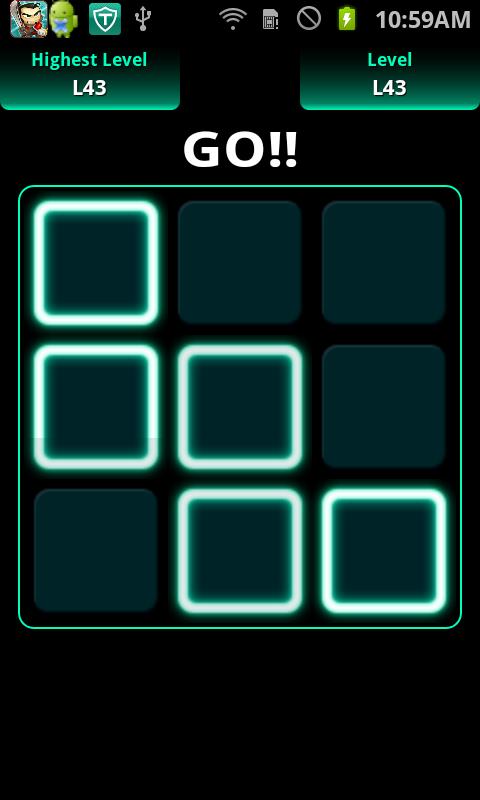androidアプリ 《まばたき厳禁!》 動体視力テスト攻略スクリーンショット3