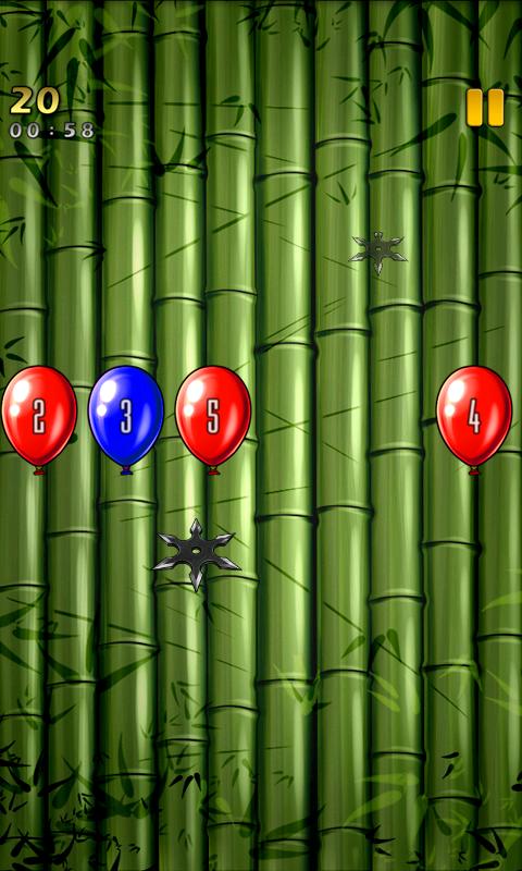 忍者シュート androidアプリスクリーンショット1
