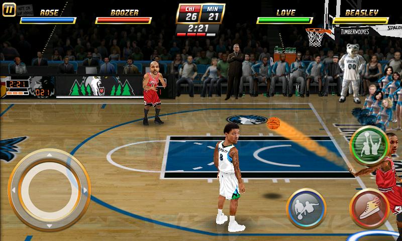 androidアプリ NBAジャム攻略スクリーンショット1