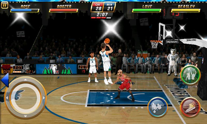 androidアプリ NBAジャム攻略スクリーンショット2