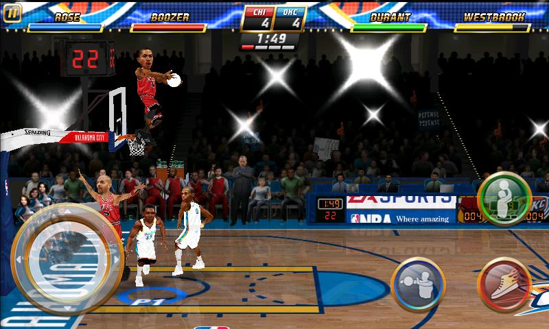 androidアプリ NBAジャム攻略スクリーンショット4