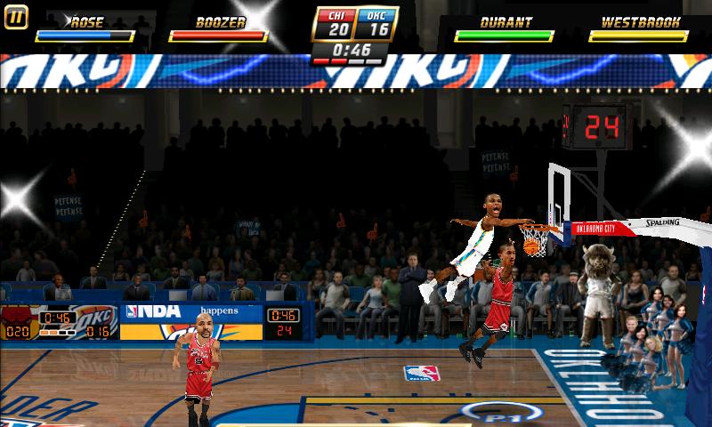 androidアプリ NBAジャム攻略スクリーンショット5