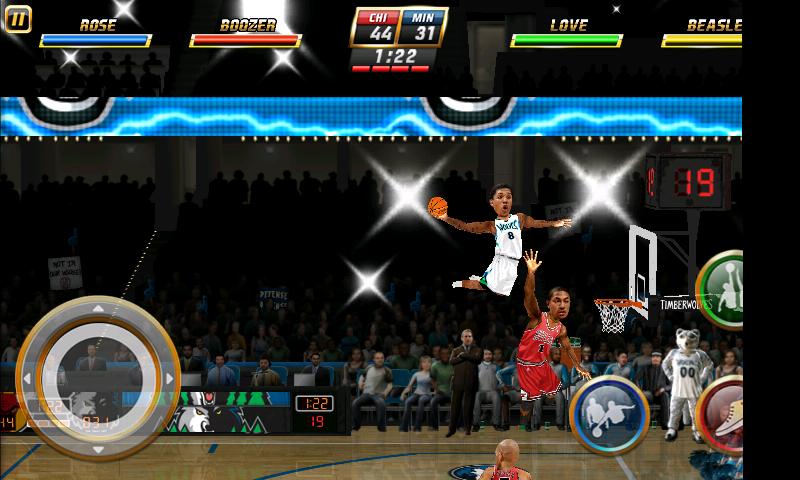 NBAジャム androidアプリスクリーンショット1