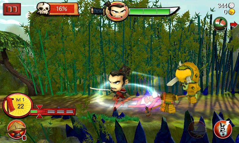 androidアプリ サムライ vs ゾンビ攻略スクリーンショット3