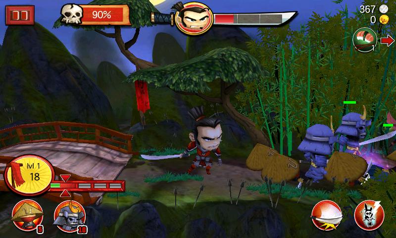 androidアプリ サムライ vs ゾンビ攻略スクリーンショット5