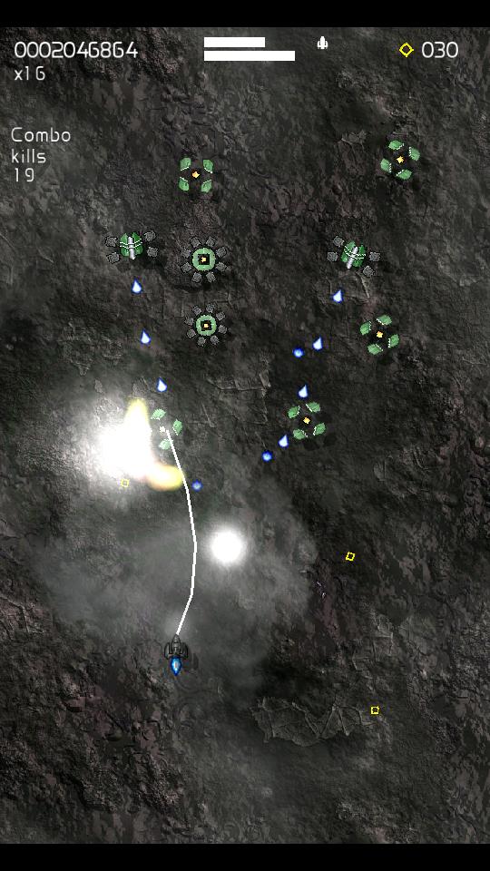 androidアプリ Xelorians無料 - 宇宙シューティングゲーム攻略スクリーンショット2