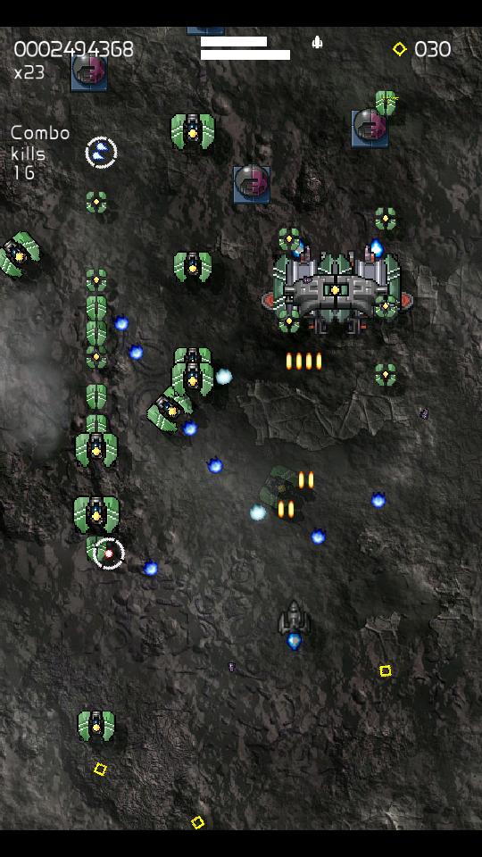 Xelorians無料 - 宇宙シューティングゲーム androidアプリスクリーンショット1