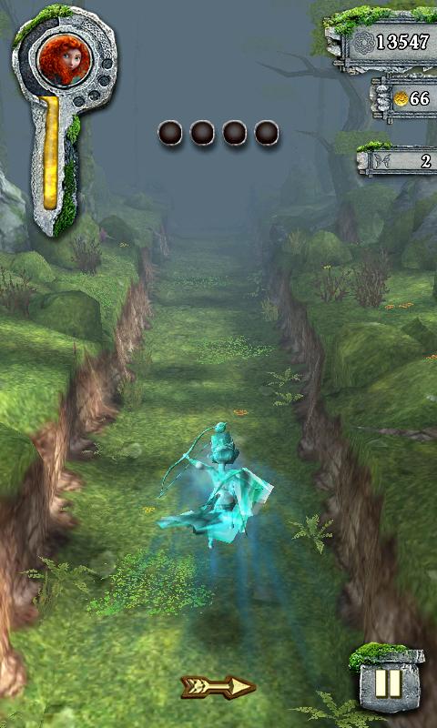 androidアプリ テンプルラン:メリダとおそろしの森攻略スクリーンショット4