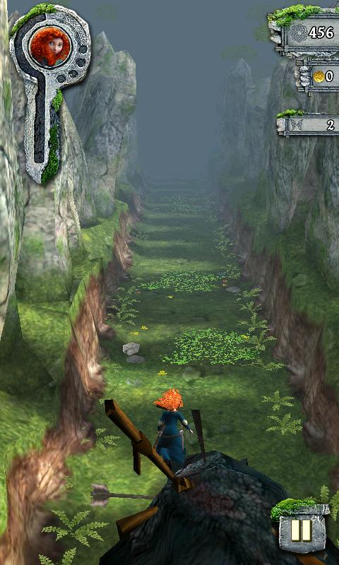テンプルラン:メリダとおそろしの森 androidアプリスクリーンショット1