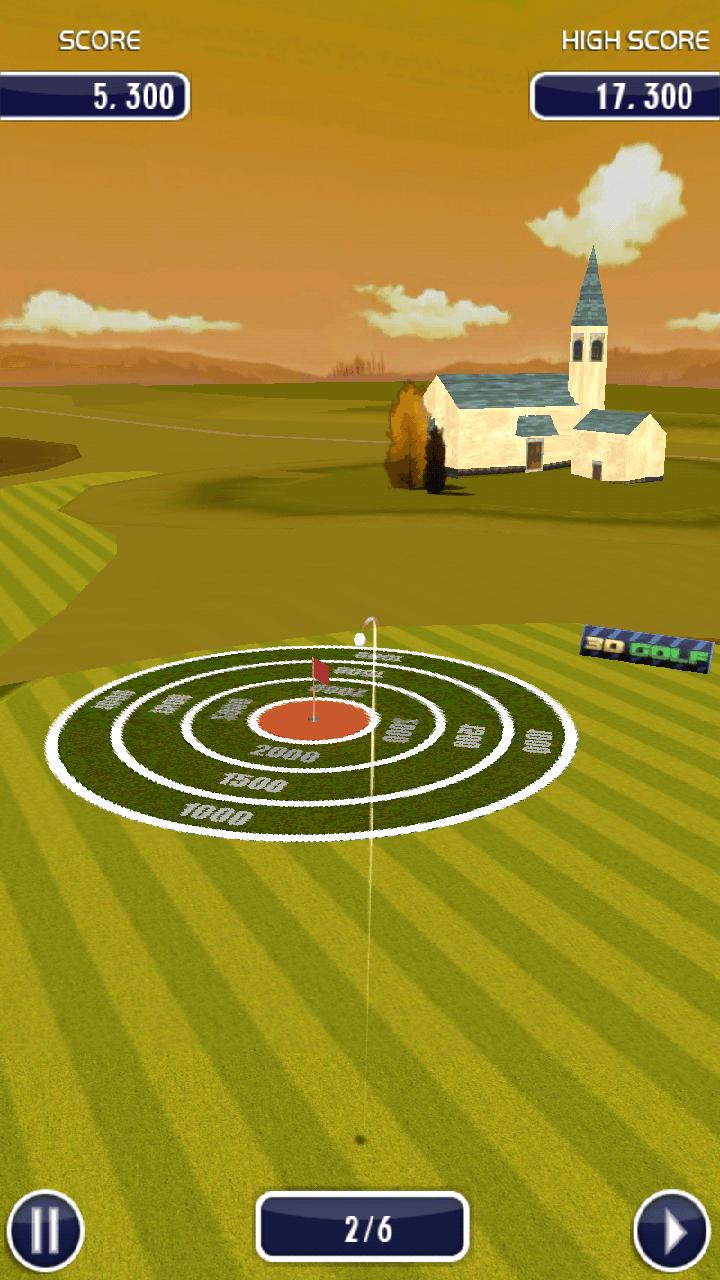 ゴルフ 3D androidアプリスクリーンショット1