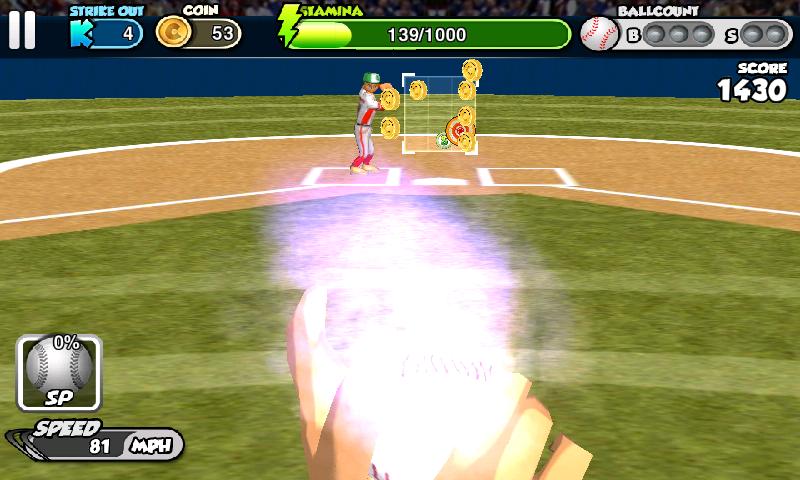 androidアプリ フリック・ベースボール攻略スクリーンショット5