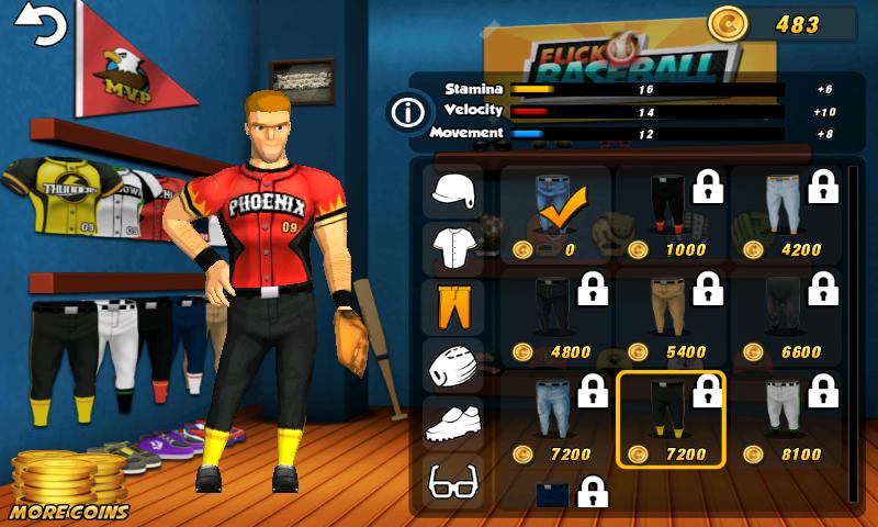 フリック・ベースボール androidアプリスクリーンショット3