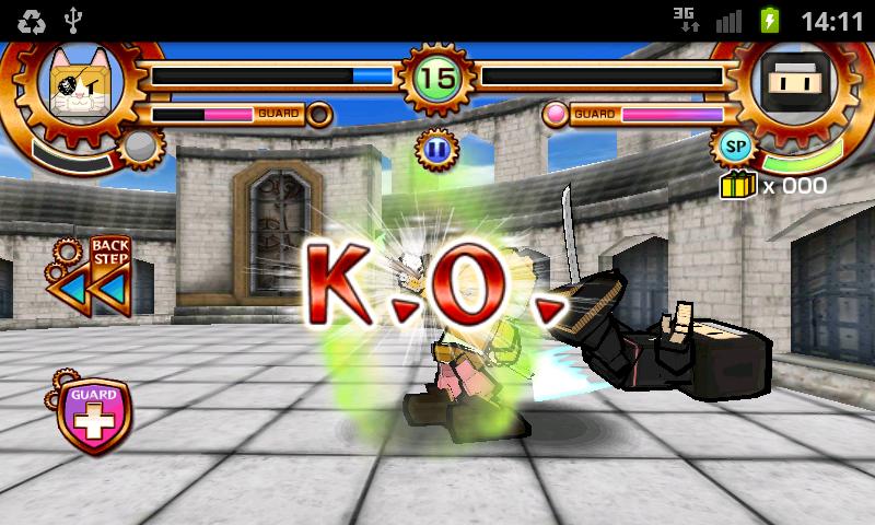 バトロボ! androidアプリスクリーンショット2
