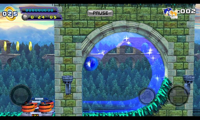 ソニック4 エピソード II androidアプリスクリーンショット3