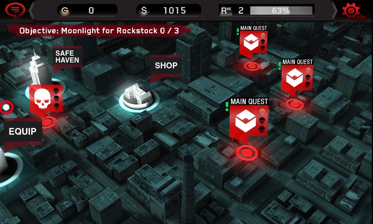androidアプリ デッドトリガー攻略スクリーンショット3