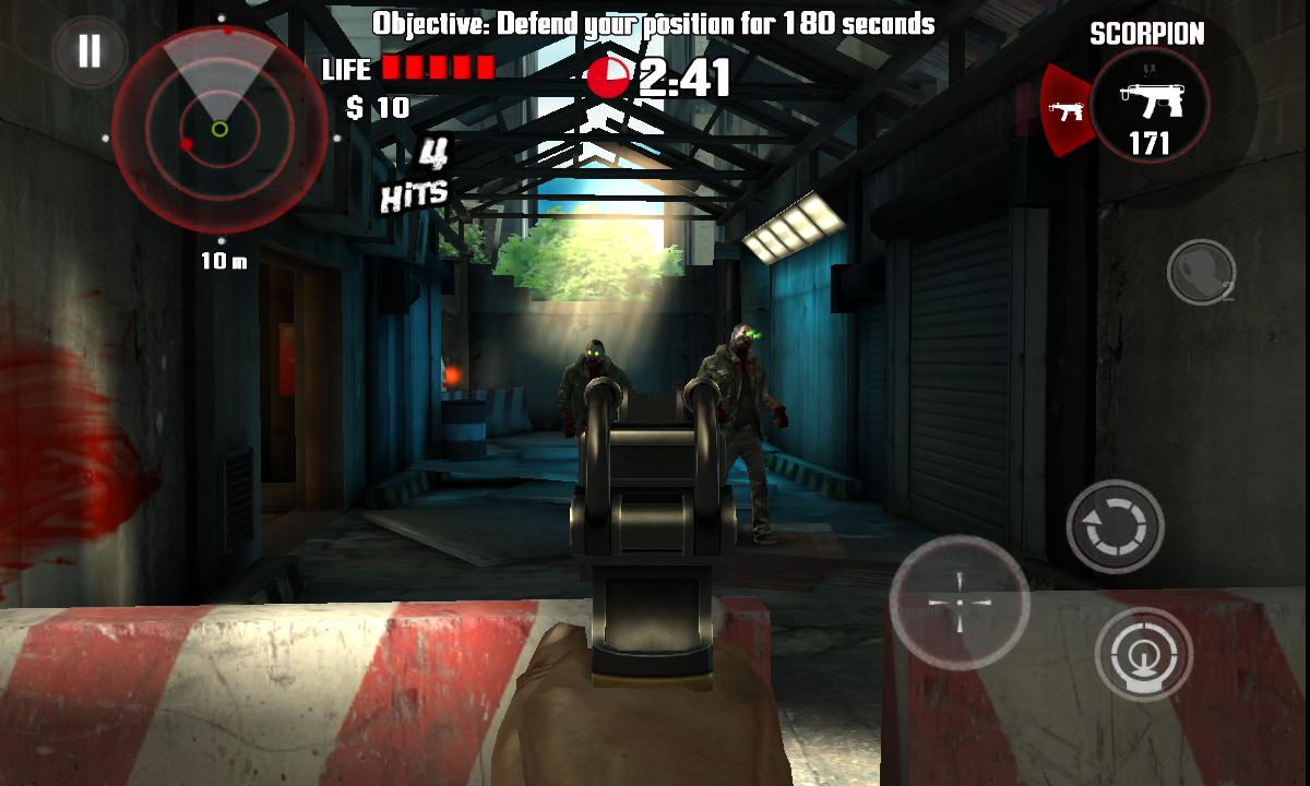 デッドトリガー androidアプリスクリーンショット2