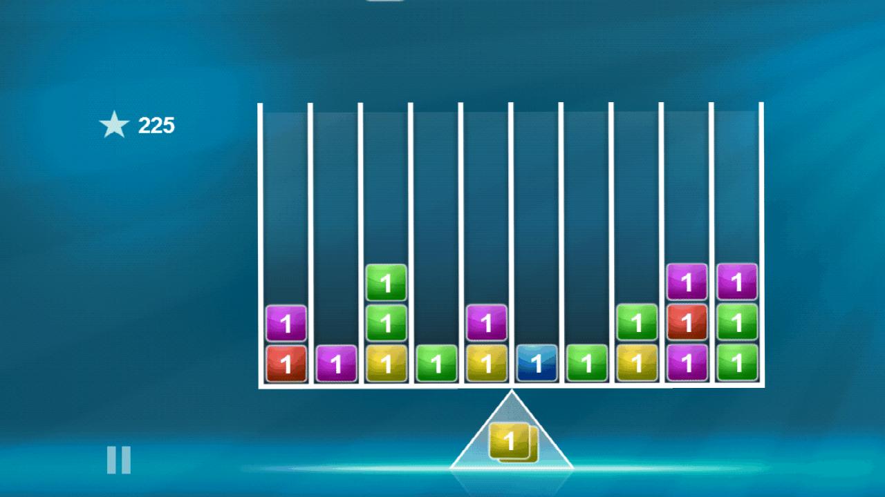 androidアプリ バランスのブロックス攻略スクリーンショット1