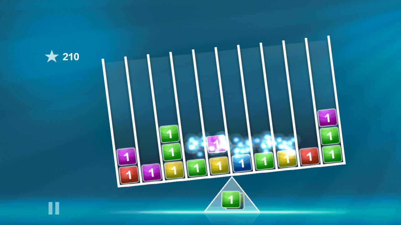 androidアプリ バランスのブロックス攻略スクリーンショット2