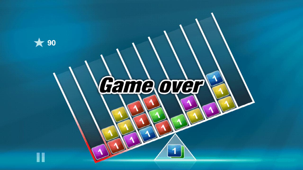 androidアプリ バランスのブロックス攻略スクリーンショット4