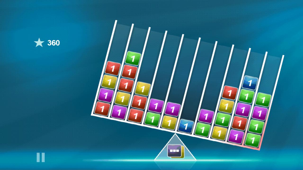 androidアプリ バランスのブロックス攻略スクリーンショット5