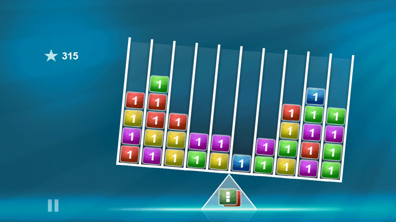 バランスのブロックス androidアプリスクリーンショット1