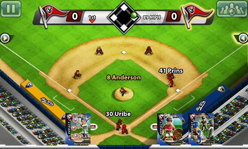 androidアプリ ビッグウィンベースボール攻略スクリーンショット3