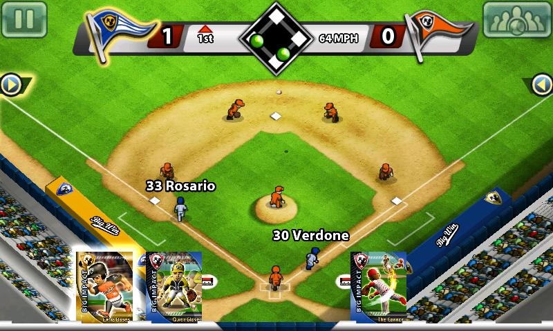 ビッグウィンベースボール androidアプリスクリーンショット1