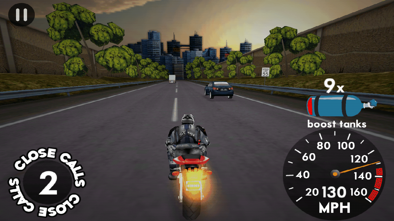 androidアプリ ハイウェイ ライダー攻略スクリーンショット2