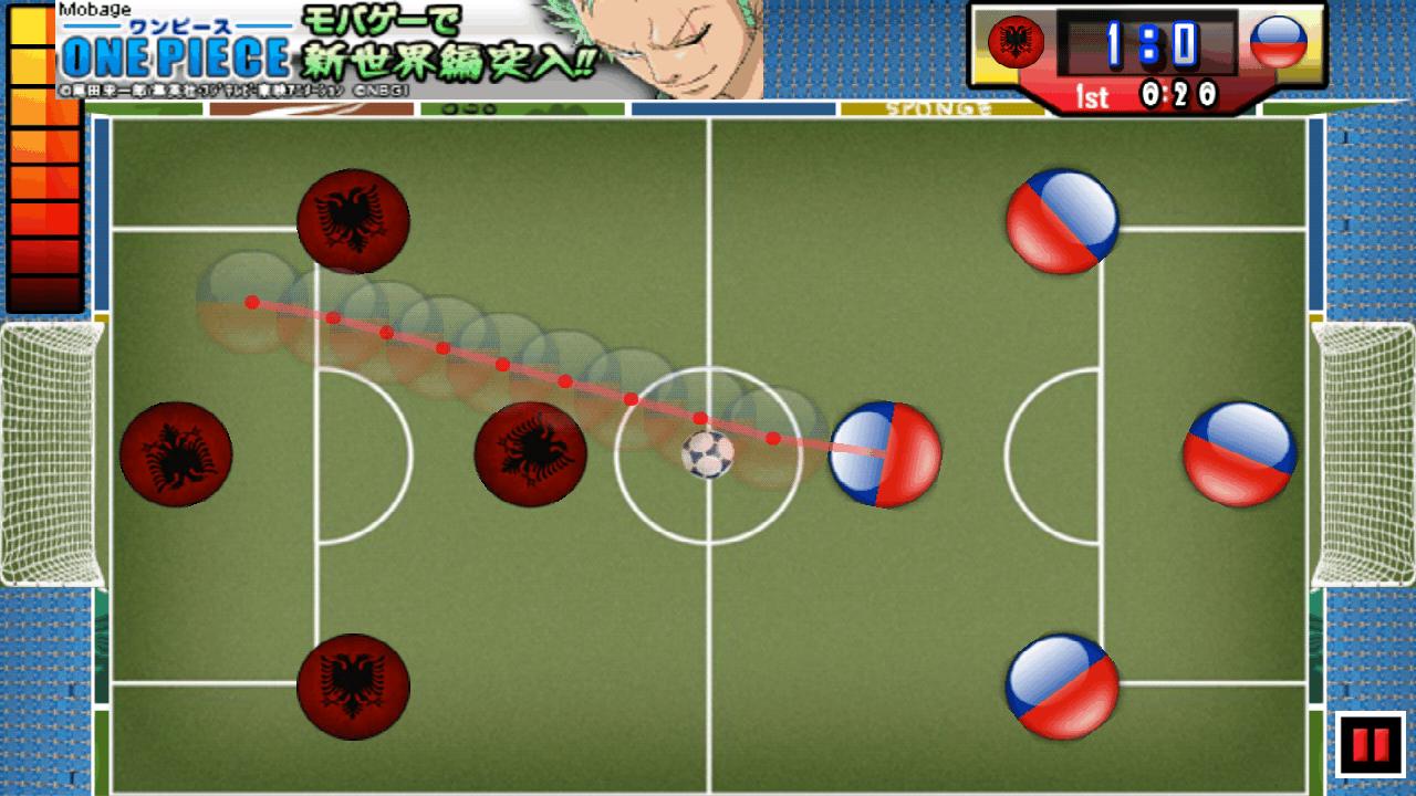 androidアプリ 指サッカー ライト攻略スクリーンショット4