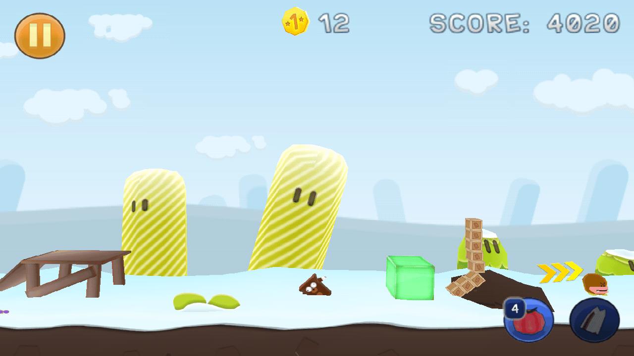 エアーバッグ フランク 3D ゴールド androidアプリスクリーンショット1